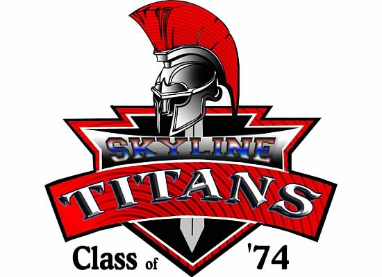 Home of the Skyline High School Class of 74 Titans